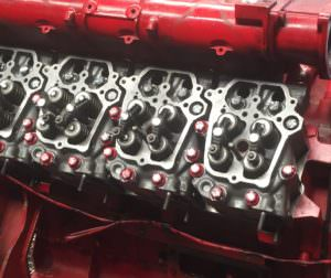 Rebuilt Iveco 8281 Cylinder Heads